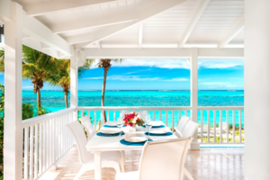 turks and caicos private villa on the ocean