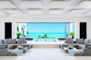 private villa in turks and caicos with infinity pool over the ocean